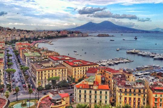 Napoli vista da Mergellina
